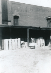 Crafting fire brick for shipment, Mitchell Fire Clay Company