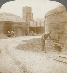 Firing the kilns