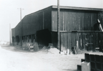 Blackmer & Post Pipe Co. Clay Storage Shed
