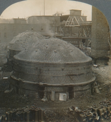 A Kiln of Tile Being Fired, Laclede-Christy, St. Louis, Missouri