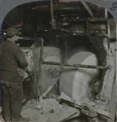 The Wet Process Mill in Which the Material is Finely Ground
