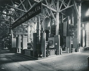 Laclede Fire Brick Manufacturing Company exhibit at the Louisiana Purchase Exhibition, St. Louis, Missouri, 1904