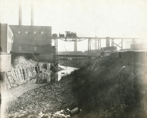 Tramway over River Des Peres to Laclede-Christy Mine