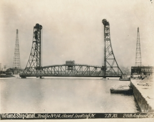 Welland Ship Canal Bridge No. 14