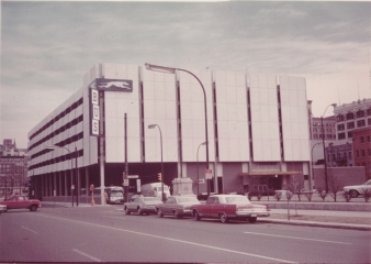 Greyhound Bus Station & Parking Garage