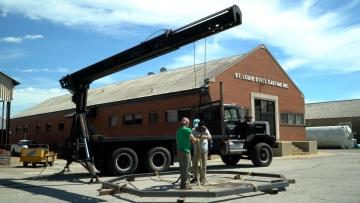 Rigging framework for hoisting