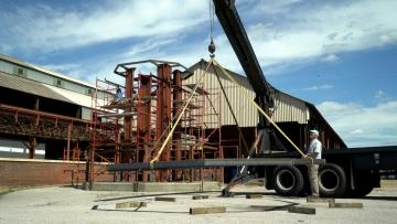 Hoisting framework