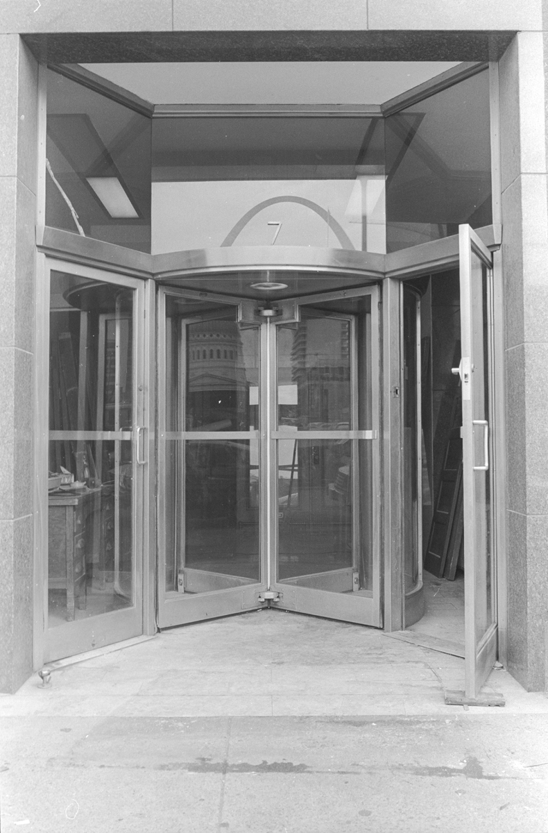 Missouri Pacific Building (Buder Building) & Revolving Doors | National Building Arts Center