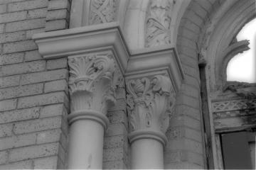 Terra cotta entrance details.