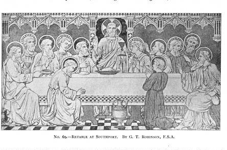 o. 69. - Retable at Southport. By G.T. Robinson, F.S.A.