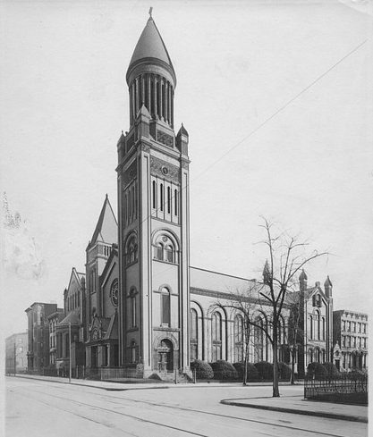 Church of the Messiah in Brooklyn, New York 1909